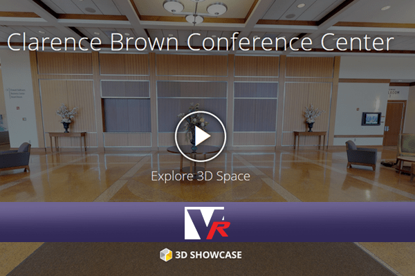 3D 360 VR TOUR, online photo quality displays, great for convention centers..