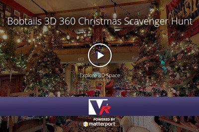 Insided the ultimate christmas house cottage with 3D 360 VR TOUR, online photo quality displays, great for bed and breakfast.